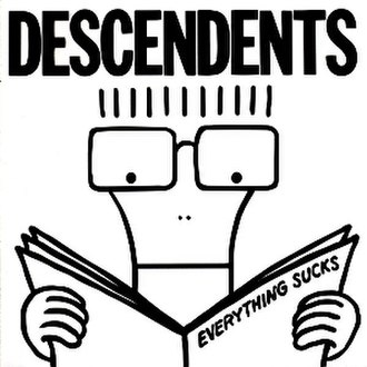 Everything Sucks (Descendents album) - Image: Descendents Everything Sucks cover