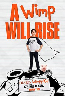 <i>Diary of a Wimpy Kid: The Long Haul</i> (film) 2017 American film by David Bowers
