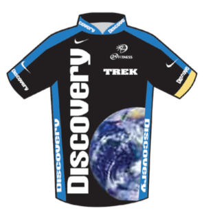 U.S. Postal Service Pro Cycling Team - Image: Discovery Channel Jersey 2007 Tour de France