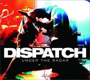 Under the Radar (Dispatch album) - Image: Dispatch undertheradar