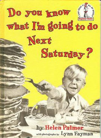 Do You Know What I'm Going to Do Next Saturday? - First edition