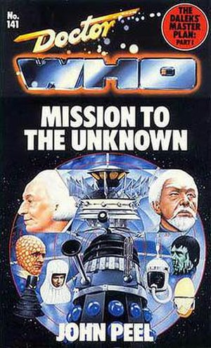 The Daleks' Master Plan - Image: Doctor Who Mission to the Unknown