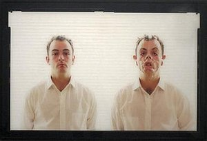 Douglas Gordon - Monster, 1996-7, color photograph by Douglas Gordon, Private ownership- Michael Hue Williams