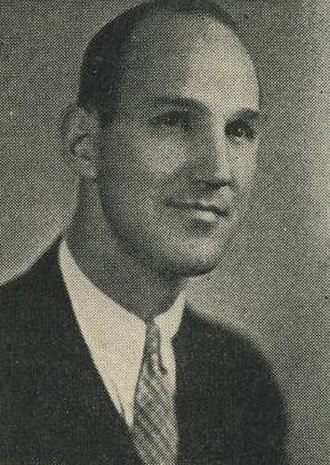 Elmer A. Lampe - Lampe pictured in The Hinakaga 1936, Carroll yearbook