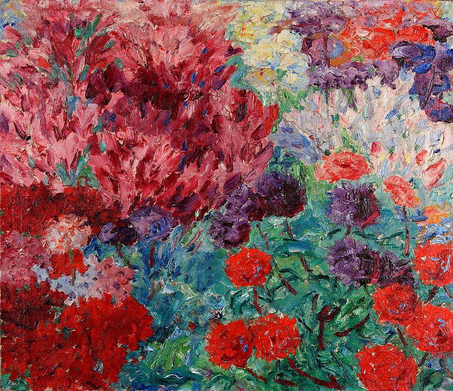 Blumen garten  File:EmilNolde-Blumengarten(ohne+Figur)1908.jpg - Wikipedia