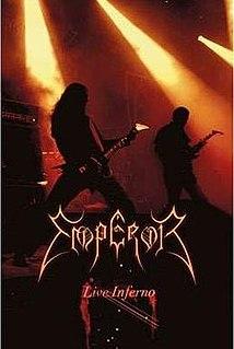 <i>Live Inferno</i> 2009 live album by Emperor