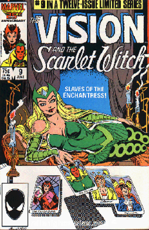 Enchantress (Marvel Comics) - Image: Enchant Scarletvision 9