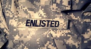 Enlisted (TV series) - Image: Enlisted title card