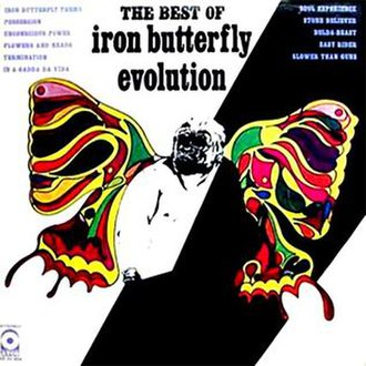 Evolution: The Best of Iron Butterfly - Image: Evolutionof IB