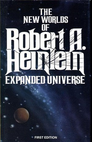 Expanded Universe (book) - First Edition cover for Expanded Universe