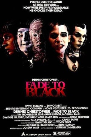 Fade to Black (1980 film) - Theatrical release poster