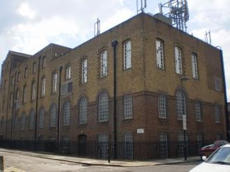 Glasite - Barnsbury Grove, Islington.  2008 photo of a 19th-century Sandemanian meeting house.