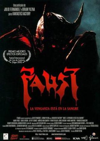 Faust: Love of the Damned - Theatrical release poster