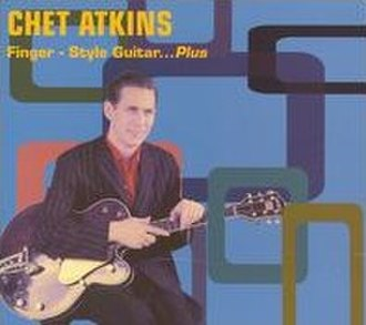 Finger Style Guitar - CD cover of re-issue of Finger-Style Guitar... Plus