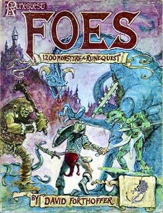 Foes (RuneQuest) - Image: Foes, Runequest supplement