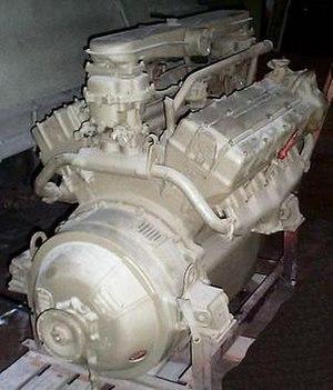 Ford GAA engine - Image: Ford GAA 1