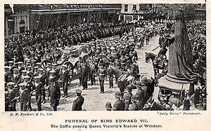 Funeral of Edward VII -1910