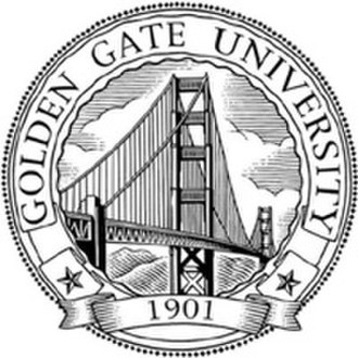 Golden Gate University - Image: Golden Gate University Seal