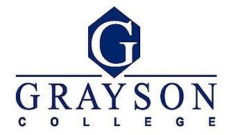 Grayson College - Image: Grayson College logo