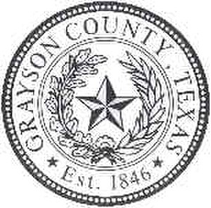 Grayson County, Texas - Image: Grayson County tx seal