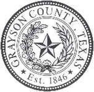 Grayson County, Texas - Image: Grayson County tx seal
