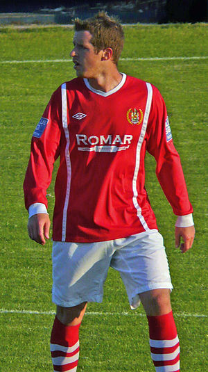 Stuart Green - Green playing for Workington in 2011