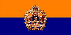 The Hastings and Prince Edward Regiment - The camp flag of The Hastings and Prince Edward Regiment.