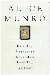book of short stories by Alice Munro