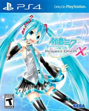 Hatsune Miku: Project DIVA X - Image: Hatsune Miku Project DIVAX