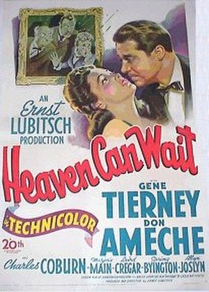 Heaven Can Wait (1943 film) - theatrical poster