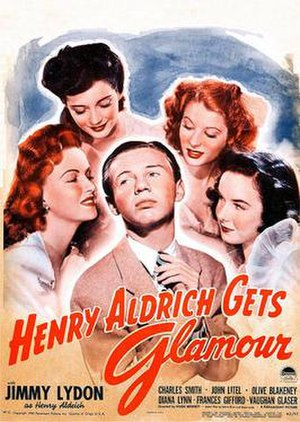 Henry Aldrich Gets Glamour - Theatrical release poster