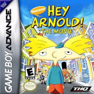 Hey Arnold!: The Movie (video game) - North American box art