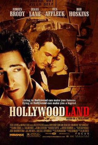 Hollywoodland - Theatrical release poster