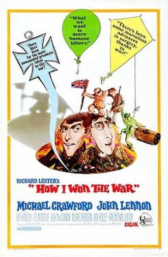 How I Won the War - US film poster