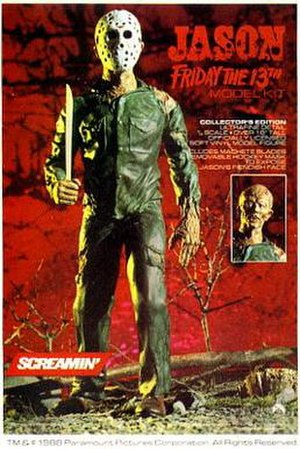 Jason Voorhees - In 1988, Screamin' toys introduced the build-it yourself Jason figure.