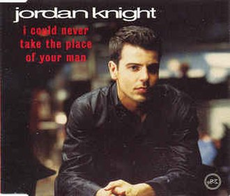 I Could Never Take the Place of Your Man - Image: Jordan Knight Never Take