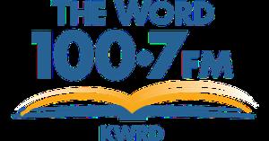 KBDT - Image: KWRD The Word 100.7 logo