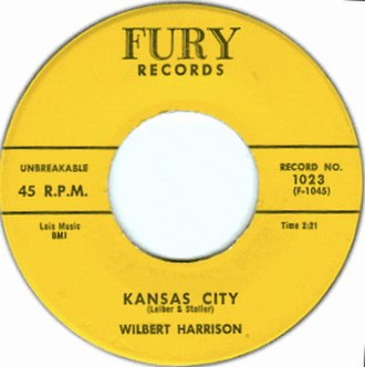 Kansas City (Leiber and Stoller song) - Image: Kansas City single cover