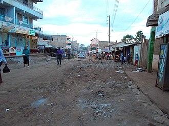 Kasarani - Image: Kasarani sidestreet 2015