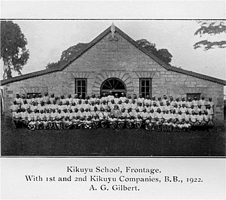 John Arthur - Kikuyu School