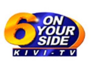 KIVI-TV - Former logo used from 2002 until 2005.