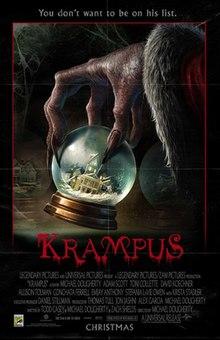 krampus posterjpg - Best Christmas Horror Movies