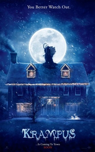 Krampus (film) - Theatrical release poster