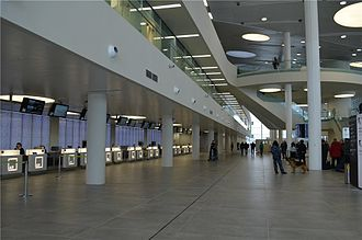 Kurumoch International Airport - Kurumoch's main entrance and check-in desks
