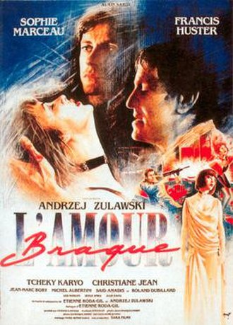 L'Amour braque - Theatrical release poster