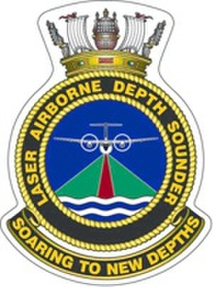 Laser Airborne Depth Sounder Flight RAN - Ship's badge for LADS Flight