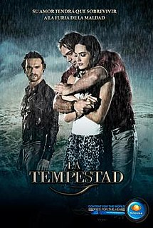 <i>La Tempestad</i> 2013 Mexican telenovela