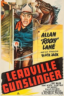 <i>Leadville Gunslinger</i> 1952 film by Harry Keller