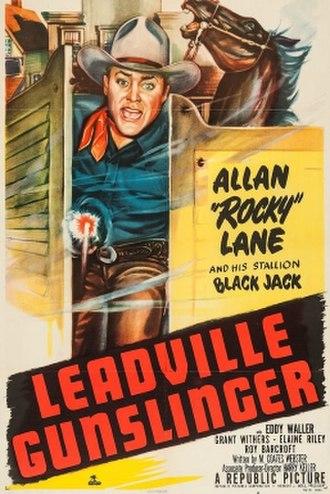 Leadville Gunslinger - Theatrical release poster
