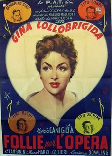 <i>Mad About Opera</i> 1948 film by Mario Costa